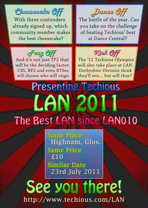 Techious LAN2011